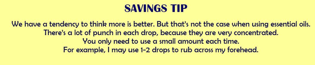 saving tip